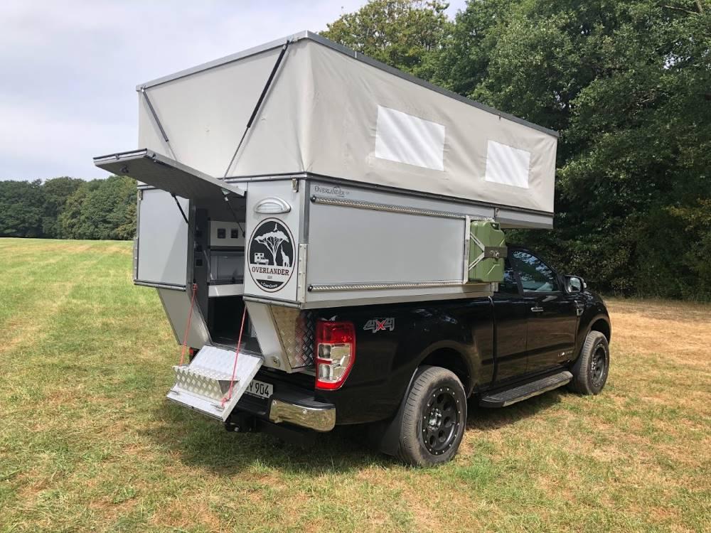Overlander 220 Wohnkabine by Camp-Crown - Die Pop-Up Basis Kabine